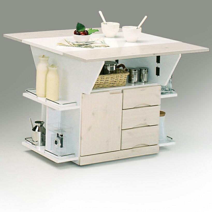 両バタテーブル 両端カウンター 食卓カウンター 幅90cm 高さ70cm テーブルカウンター 完成品 パイン無垢材 人気おしゃれ ウレタンコート仕上げ アルミセラミック化粧板 北欧 モダン シンプル 大川家具 送料無料