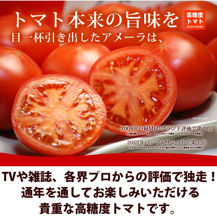 アメーラは通年楽しめるトマトです