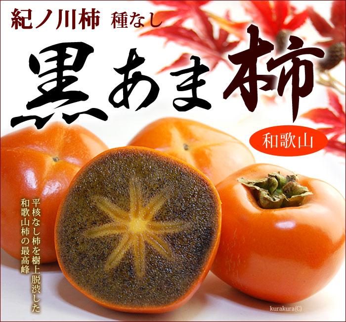 紀ノ川柿「黒あま」の販売/通販