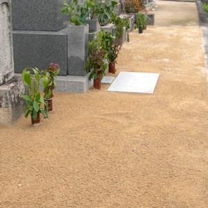 防草マサ(12L)お墓専用の雑草が生えにくい土