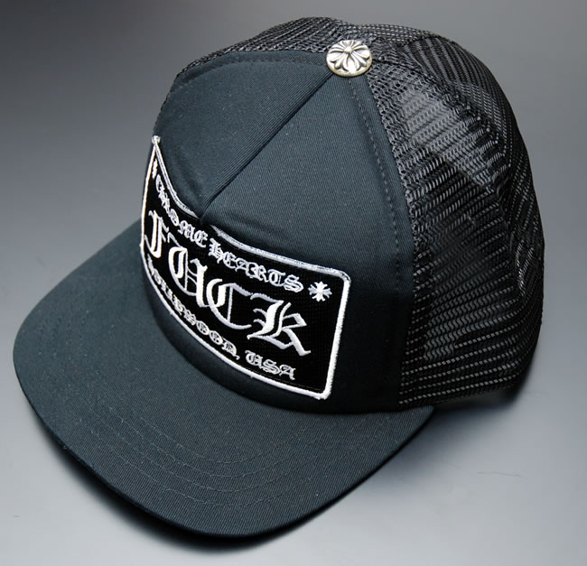 Credit Card Tracker >> OOPARTS | Rakuten Global Market: Chrome CHROME HEARTS Tracker Cap FUCK ★ Black/WHITE
