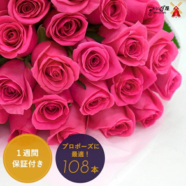 108本バラ