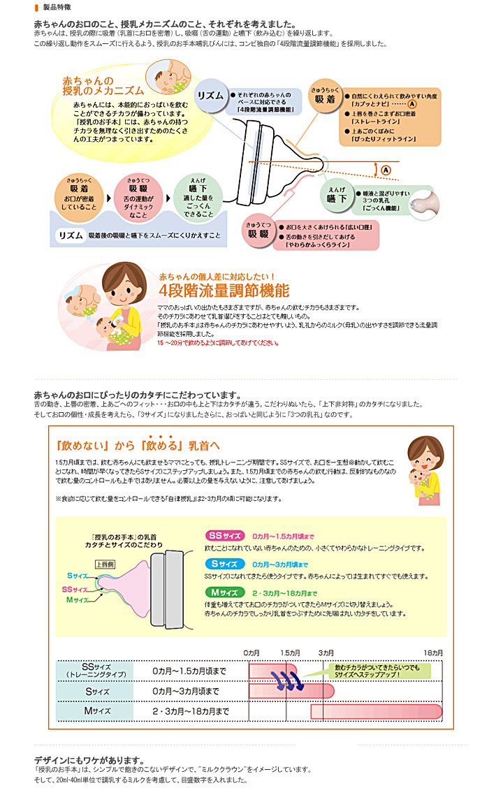 ORANGE-BABY   Rakuten Global Market: Combi teteo ( Carbuncles ...