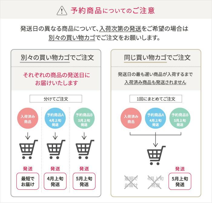 先行予約商品の同梱についてのご注意
