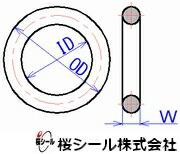 桜シールOリング寸法規格パーフロ_AS568番