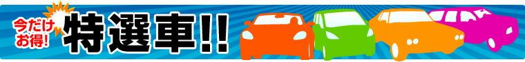 今月の特選車はコチラ!通常月にご契約するよりも断然お得になっております!