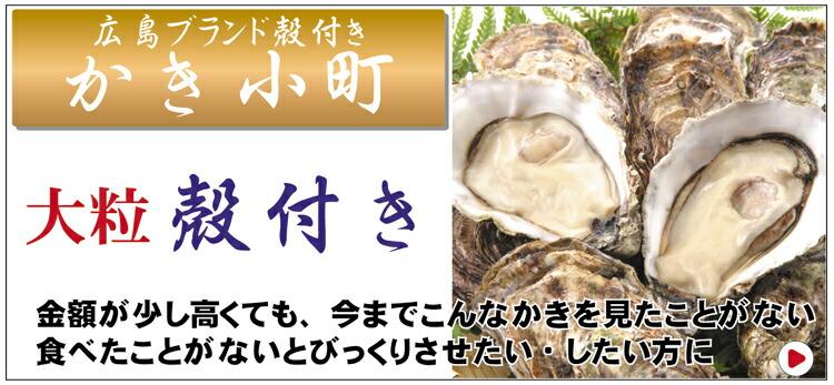広島ブランド殻付き「かき小町」