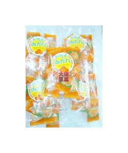 大阪京菓ZRタクマ食品 50gドライみかんピロ〔275円〕×10袋 +税