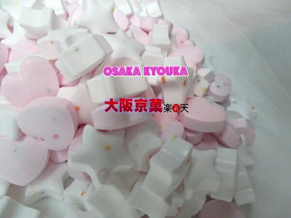 おかし企画ピンクハートラムネ&スターラムネ 4kg 【業】