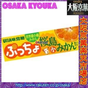 味覚糖 10粒 ぷっちょスティック 桜島小みかん
