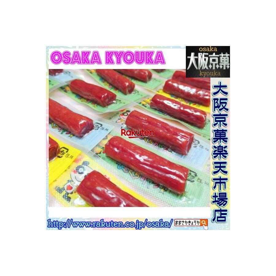 【メール便送料無料】大阪京菓ZRヤガイ 3.4グラム おやつ カルパス ×80個 +税 【ma】