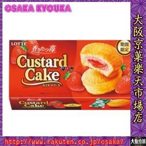 ロッテ6個カスタードケーキ<香りたつ苺>