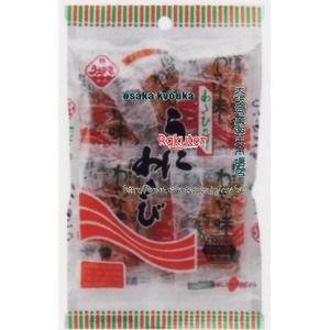 【メール便送料無料】大阪京菓 ZRx植垣米菓 7個 うにわさび×6袋 +税 【xma6】