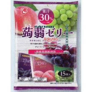 ZRxエースベーカリー 20Gx15個 果汁30%蒟蒻ゼリーミックス×16個 +税 【xeco】