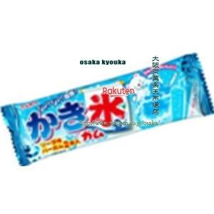 ZRx駄菓子 丸川2本かき氷ガムソーダ味×20個 +税 【駄xima】