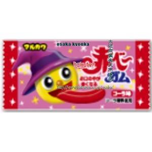 ZRx駄菓子 丸川1個赤べ~ガム×50個 +税 【駄xima】