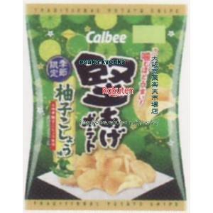 ZRxカルビー 60G堅あげポテト柚子こしょう味×12個 +税 【xeco】
