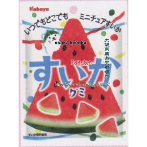 大阪京菓 ZRxカバヤ食品 50Gすいかグミ×240個 +税 【xw】【(沖縄は別途送料)】