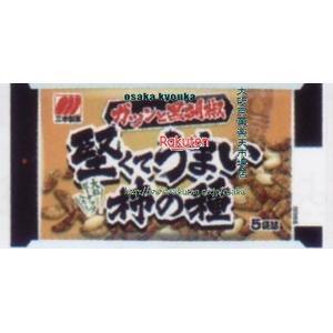 ZRx三幸製菓 182G 堅くてうまい柿の種黒胡椒味×24個 +税 【xw】