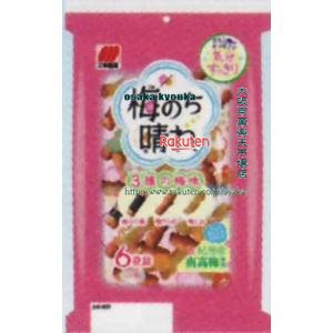 ZRx三幸製菓 80G 梅のち晴れ×12個 +税 【xeco】