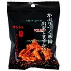 ZRx三真 35G 旨辛クリスピーおかき×10個 +税 【xeco】