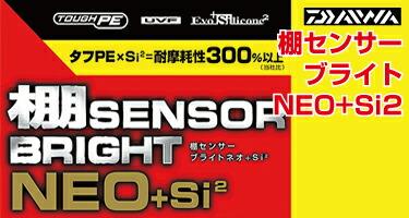 ダイワ棚センサーブライト+Siネオ