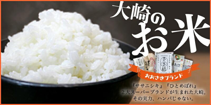宮城県大崎市のお米