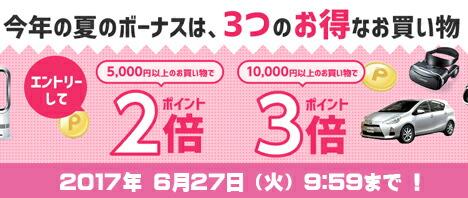 6/28(水)10:00〜6/29(木)12:00 あす楽3倍セール