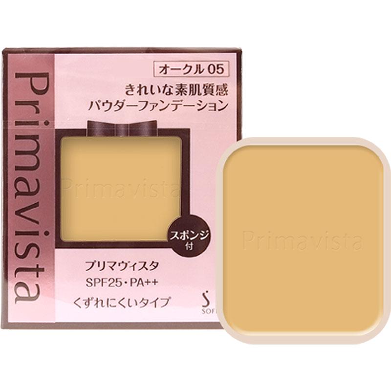 花王ソフィーナ プリマヴィスタ きれいな素肌質感 パウダーファンデーション(SPF25 PA++) #OC-05