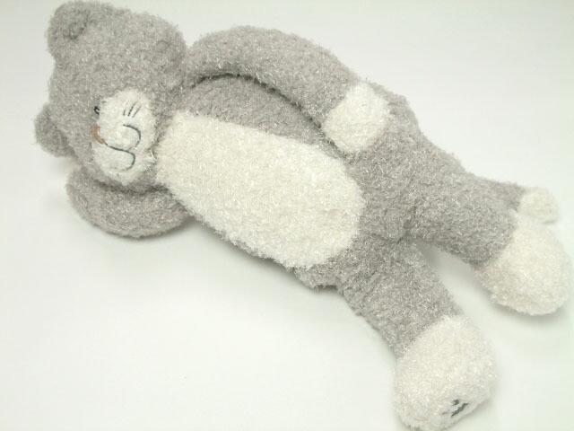 ねこのチャーミー ぬいぐるみ 抱きまくら Sサイズ 抱き枕 グレー ねこ雑貨 ネコ雑貨 猫雑貨通販 ねこグッズ ネコグッズ 猫グッズ キャット
