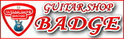 badge guiter shop ギター総合販売店