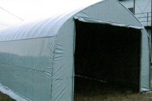 トーカンフリールーフシルバー 車庫使用例