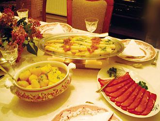 ドイツの食卓