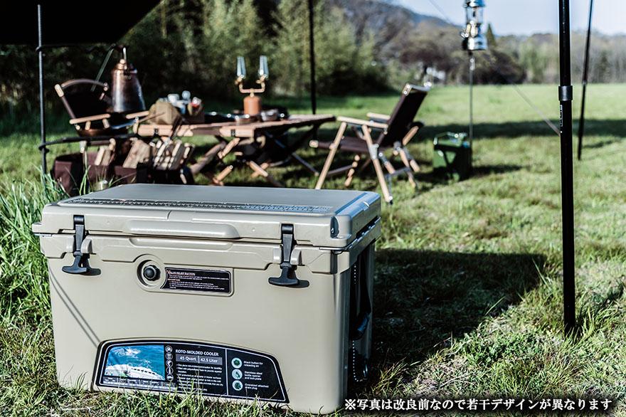 ICE AGE アイスエイジ クーラーボックス 45QT 42.6L アイスボックス 最強 保冷力 5日間保冷力をキープ  キャンプ BBQ 釣り アウトドア レジャー