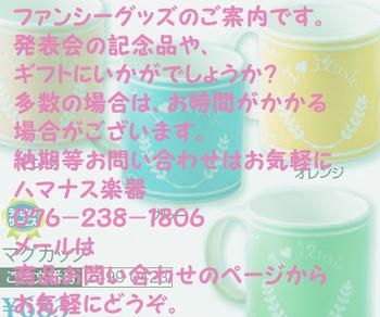 秋冬のおすすめコレクション/発表会記念品