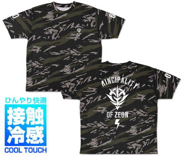 機動戦士ガンダム冷感フルグラフィックTシャツジオンS