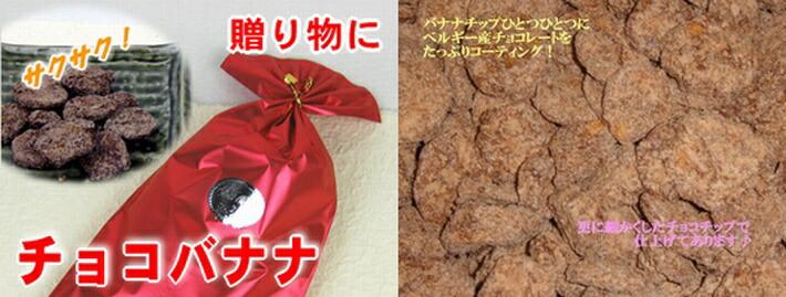 珍味のワゴー完全オリジナル【チョコバナナ】