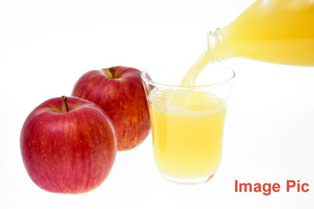 秋田産りんごジュースフジ果汁100%