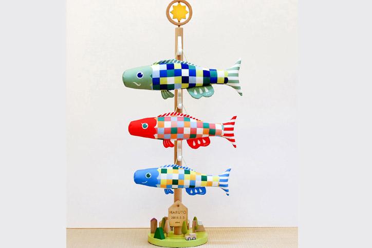 室内飾り鯉のぼり さわって遊べるプーカの木 Puca《620-111》