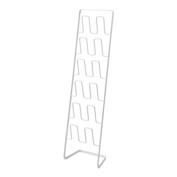 【山崎実業】<br>スリッパラック フレーム 6足用 スリム ホワイト 4702