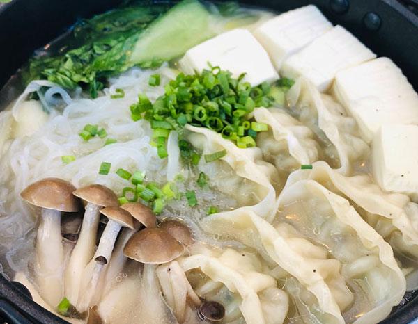トーフ餃子鍋