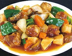 酢豚風焼売(シュウマイ)