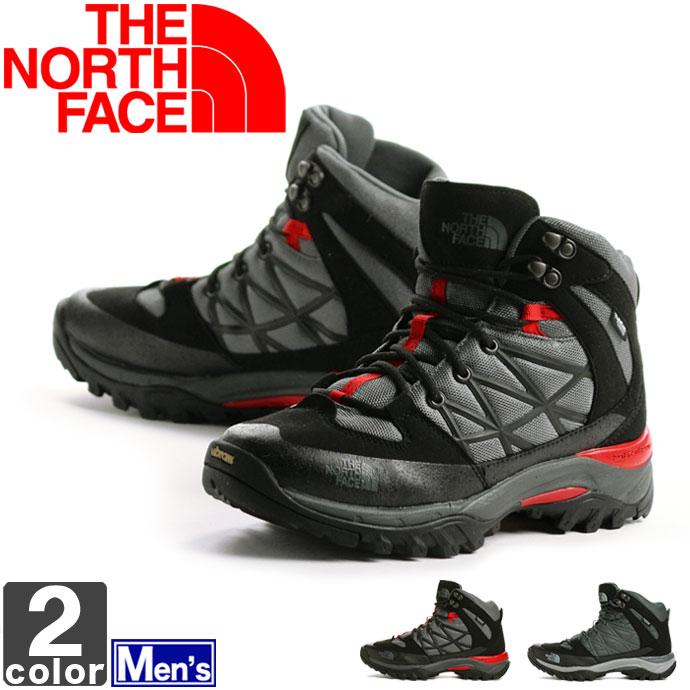 《送料無料》ノースフェイス【THE NORTH FACE】メンズ ストーム 2 ミッド WP NF01523 1705 防水 シューズ アウトドア  ブーツ トレッキング レジャー ハイキング 登山