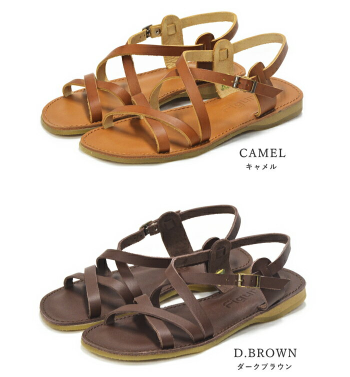 SHOEBREAK: Japanese Binding Leather Sandals Lady's 歩 きやすい