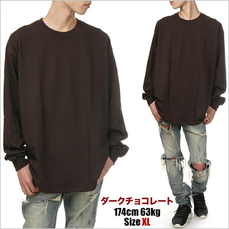 ギルダン 長袖Tシャツ メンズ レディース 無地 GILDAN ロングスリーブTシャツ ロンT USAモデル 大きいサイズ ヒップホップ ダンス ストリート 黒 ブラック 赤 グレー ネイビー ブルー 青 ホワイト 白 hiphop