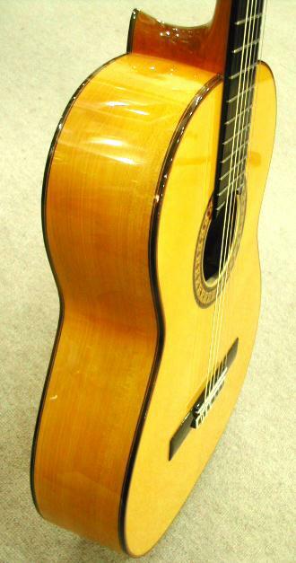 フラメンコギター サイド