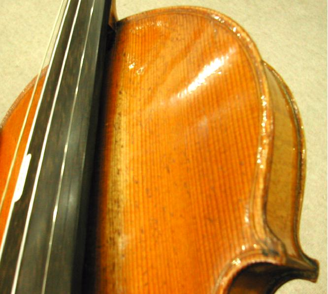ヴァイオリン表板