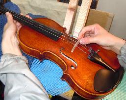 バイオリン調整