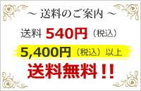 送料540円(税込) 5,400円(税込)以上送料無料!!