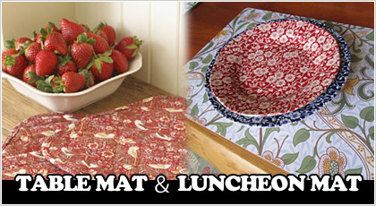 TABLE MAT & LUNCHEON MAT